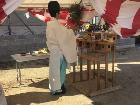 森松5号地建売モデルハウス 地鎮祭
