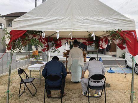 森松6号地建売モデルハウス 地鎮祭